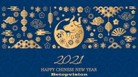 Celebrate Chinese New Year Holiday 2021